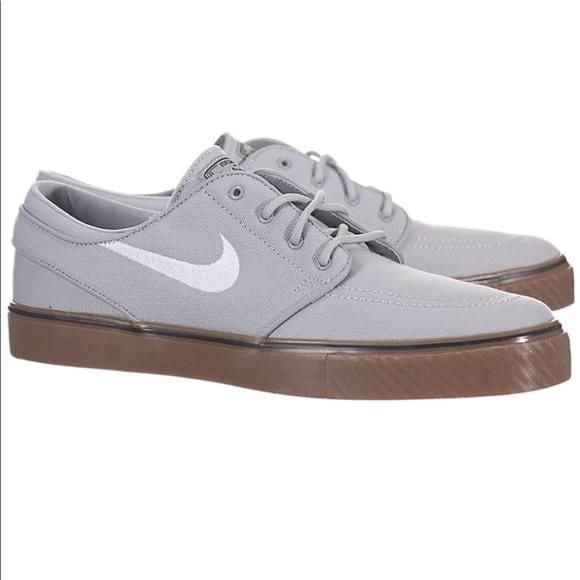 Nike Sb Zoom Stefan Janoski Grey White